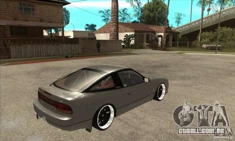 Nissan Silvia S15 1999 para GTA San Andreas vista direita