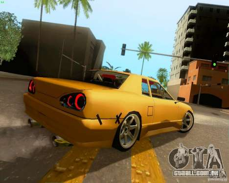 Elegy Drift Korch para GTA San Andreas vista traseira