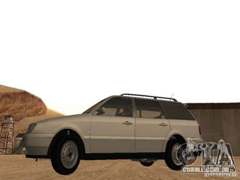 Volkswagen Passat B4 para GTA San Andreas vista direita