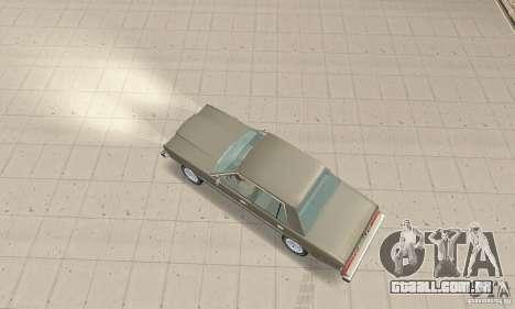 Dodge Diplomat 1985 v2.0 para GTA San Andreas traseira esquerda vista