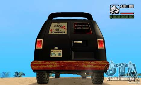 Blood Burrito para GTA San Andreas traseira esquerda vista