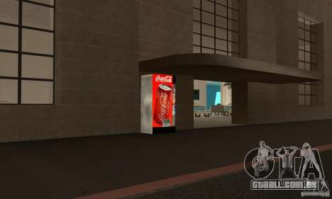 Cola Automat para GTA San Andreas segunda tela