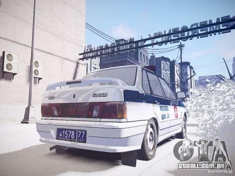 DPS VAZ 2115 para GTA 4 traseira esquerda vista