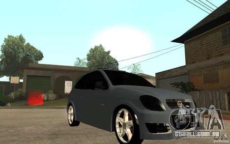 Chevrolet Celta VHC 2011 para GTA San Andreas vista traseira