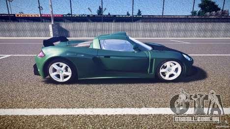 Porsche Carrera GT para GTA 4 vista interior