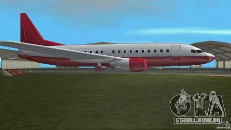 Boeing 737 para GTA Vice City deixou vista