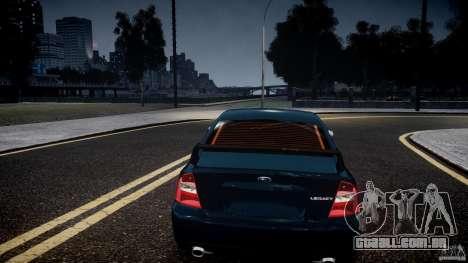 Subaru Legacy B4 GT para GTA 4 vista superior