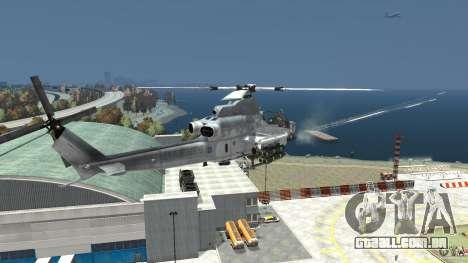 Bell AH-1Z Viper para GTA 4 vista de volta