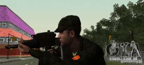 OTS-101 Adder para GTA San Andreas por diante tela