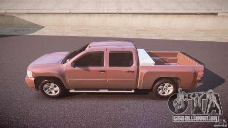 Chevrolet Silverado 1500 v1.3 2008 para GTA 4 esquerda vista