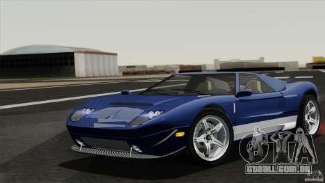 Bullet GT from TBOGT para GTA San Andreas vista traseira