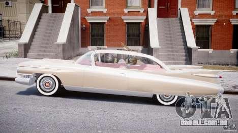 Cadillac Eldorado 1959 (Lowered) para GTA 4 esquerda vista