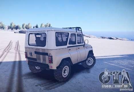 UAZ-31514 versão: 2,04 para GTA 4 traseira esquerda vista