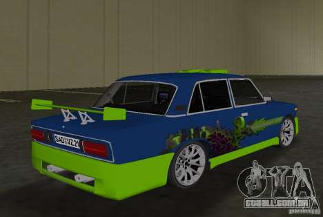 VAZ 2106 Tuning v 3.0 para GTA Vice City vista direita