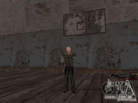 Degtyarev de Stalker para GTA San Andreas oitavo tela