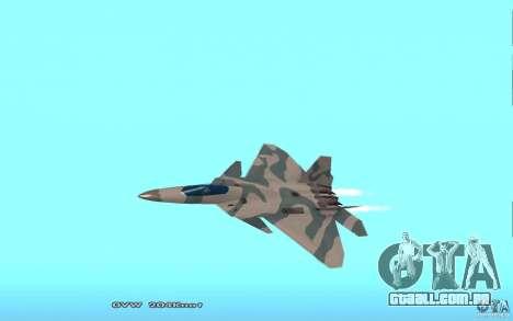 F/A-22 Velociraptor para GTA San Andreas