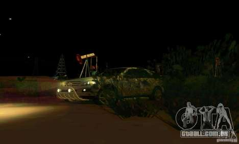 Mercedes-Benz ML500 para vista lateral GTA San Andreas