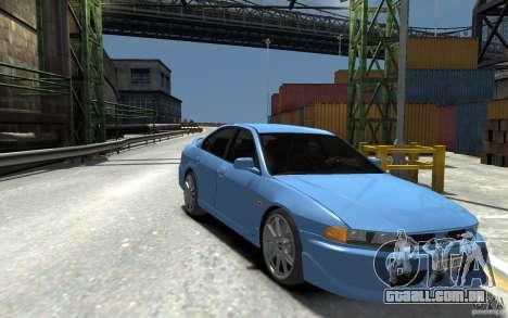 Mitsubishi Galant 8 VR-4 para GTA 4 vista de volta