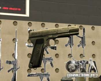 Tokarev TT pistola para GTA San Andreas