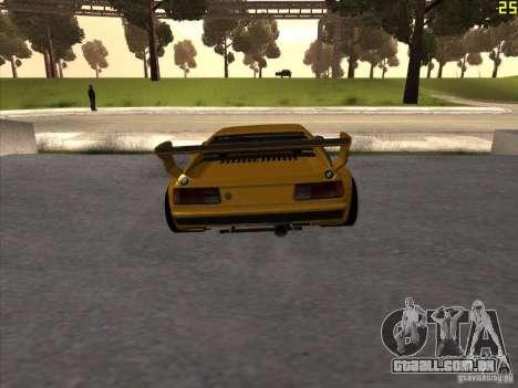 BMW M1 Procar para GTA San Andreas traseira esquerda vista