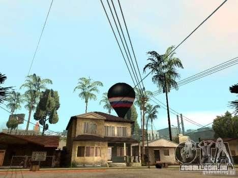 Balão Vityaz para GTA San Andreas esquerda vista