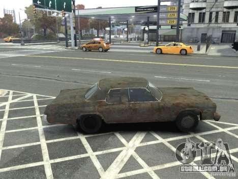 Dodge Monaco 1974 Rusty para GTA 4 esquerda vista