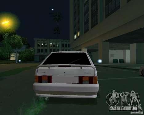 Ваз 2114 Extras para GTA San Andreas traseira esquerda vista