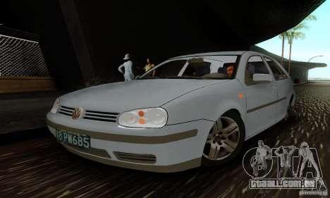 Volkswagen Golf 4 1.6 para GTA San Andreas