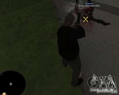 HUD №2 para GTA San Andreas por diante tela