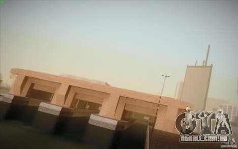New SF Army Base v1.0 para GTA San Andreas segunda tela