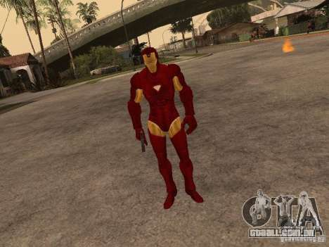 Homem de ferro para GTA San Andreas