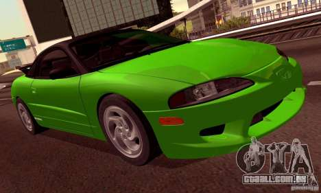 Eagle Talon TSi AWD 1998 para as rodas de GTA San Andreas