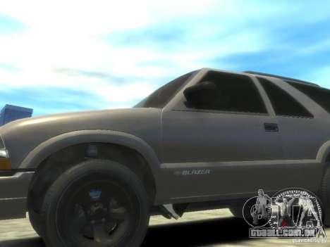 Chevrolet Blazer LS 2dr 4x4 para GTA 4 traseira esquerda vista