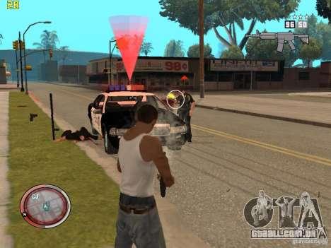 Adição para o GTA IV HUD para GTA San Andreas sexta tela
