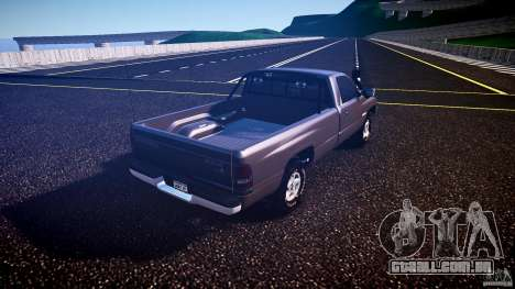 Dodge Ram 2500 1994 para GTA 4 vista direita