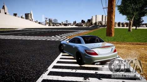 Mercedes-Benz SLK 2012 para GTA 4 vista de volta