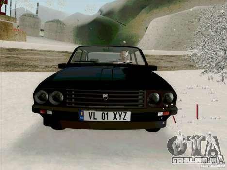 Dacia 1310 Sport para GTA San Andreas vista interior