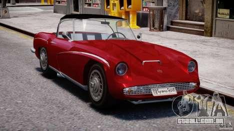 FSO Syrena Sport 1960 para GTA 4 vista de volta