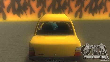 VAZ 1111 Oka Sedan para GTA Vice City vista traseira