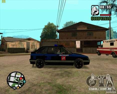 ВАЗ 2114 DPS tuning para GTA San Andreas traseira esquerda vista