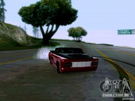 Slamvan Tuned para GTA San Andreas vista direita