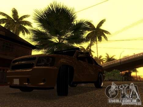 Chevrolet Avalanche Tuning para GTA San Andreas vista traseira