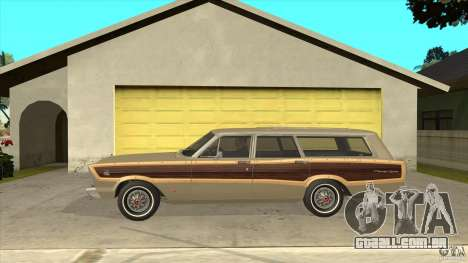 Ford Country Squire 1966 para GTA San Andreas esquerda vista