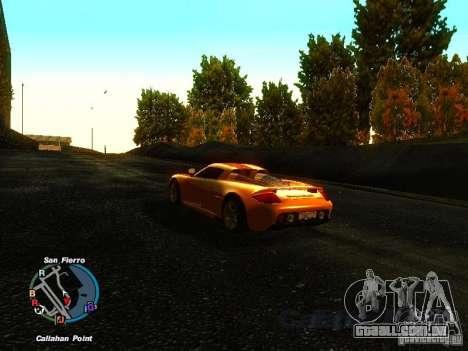 Porsche Carrera GT 2003 para GTA San Andreas vista direita