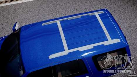 Lincoln Navigator 2004 para GTA 4 vista superior