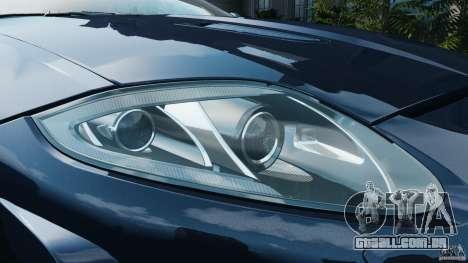 Jaguar XKR-S Trinity Edition 2012 v1.1 para GTA 4 motor