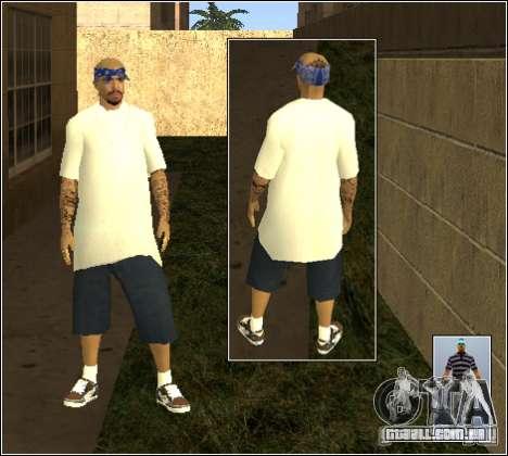 Pele Pack Getto para GTA San Andreas décima primeira imagem de tela