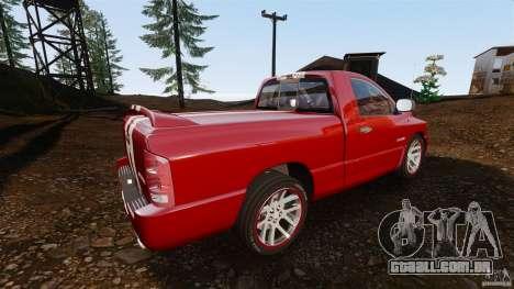 Dodge Ram SRT-10 2006 EPM para GTA 4 esquerda vista