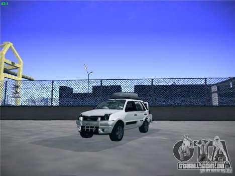 Ford EcoSport 2008 para GTA San Andreas vista traseira