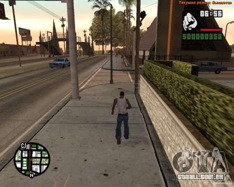 Super chute para GTA San Andreas segunda tela